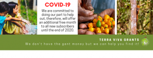 Covid-19 - TVG free month of subscription